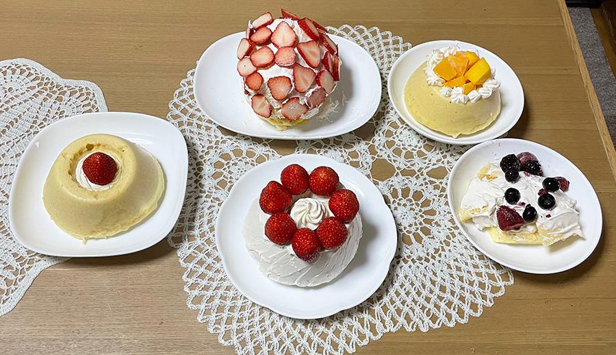 ホットケーキミックスで作るケーキレシピ
